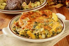 This Sweet And Creamy Butternut Squash And Spinach Gratin Is So Good, We Dare You To Try And Resist Seconds!