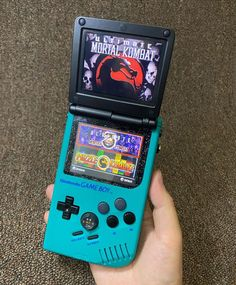 Nintendo Systems, Gamer Room, Futuristic Technology, Game Boy, Teal Colors, Color Mixing, Slot, Console, Raspberry