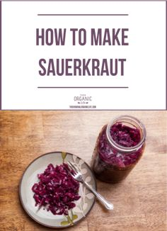 how to make unpasteurised sauerkraut