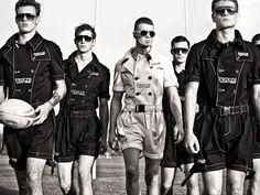 Elliott J. Frieze Menswear Spring/Summer 2012