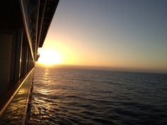 Dusk on the #NCL Pearl #cruiseship. The Wine, Dine and Music Cruise sails again Oct. 25-30, 2014. For pricing & info: http://winedineandmusiccruise.com/pricing_html.
