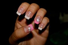 French- Pink- HelloKitty<3