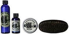Mountaineer-Brand-100-Natural-Complete-Beard-Care-Kit-Beard-Wash-Beard-Oil-Beard-Balm-Beard-Brush-0