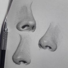 Good Photo pencil drawing nose Strategies These pencil drawing techniques from top artists will help you take your drawing skills to another l Pencil Drawing Tutorials, Pencil Art Drawings, Realistic Drawings, Art Drawings Sketches, Drawing Tips, Drawing Ideas, Realistic Rose, Drawing Drawing, Drawing Techniques