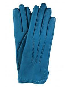 Luxury leather gloves by  LederHandschuhe - Modisch und Exklusiv | Fingerkleid.de   ... in sizes 6 1/2 to 8   http://www.fingerkleid.de/damen-leder-handschuh-gianna-blau-tuerkis-petrol/