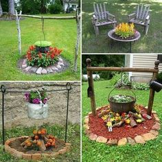Awesome Top Easy Diy Backyard Garden Projects to Beautify Your Garden decora. Diy Garden, Garden Projects, Outdoor Projects, Garden Beds, Diy Projects, Creation Deco, Backyard Landscaping, Landscaping Ideas, Backyard Ideas