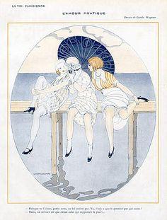 Gerda Wegener (1886 – 1940). La Vie Parisienne, 1913.