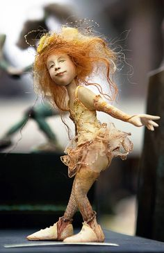 Fantasy | Whimsical | Strange | Mythical | Creative | Creatures | Dolls | Sculptures | by Yvonne Flipse