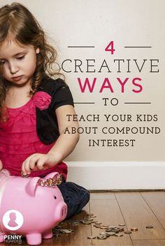 Teaching kids about money can be tricky. Here's how to explain the concept of compound interest using fun strategies kids will enjoy. - The Penny Hoarder www.thepennyhoard...