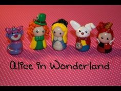 Polymer Clay: Alice In Wonderland Chibi's