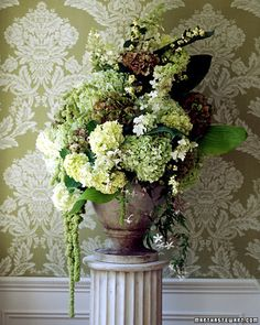 Hardy, cloudlike hydrangeas are among the most enduring and versatile flowers for a wedding - sure, i just like the look.