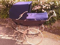 Perfect Purple Baby Buggy