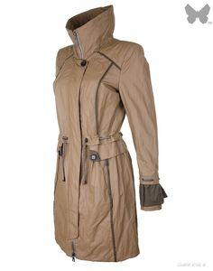 Creenstone Ladies' Ruffle Cuff Parka – Khaki Green - Jackets / Coats - Sale | Country Attire