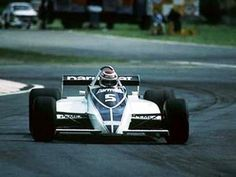 Nelson Piquet driving a Brabham-Ford – winner 1981 Argentine Grand Prix.