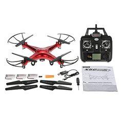 GoolRC Syma X5C Drone con Cámara HD 2.0MP 2.4GHz 4CH 6-Axis Control Remoto con GoolRC Bolso de Nylon & Dos Baterías Extras - http://www.midronepro.com/producto/goolrc-syma-x5c-drone-con-camara-hd-2-0mp-2-4ghz-4ch-6-axis-control-remoto-con-goolrc-bolso-de-nylon-dos-baterias-extras/