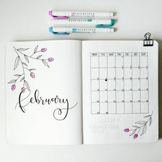 "197 Me gusta, 4 comentarios - Bujo Nina (@bujo_nina) en Instagram: ""Good morning! I thought I would show you how I use my monthly calendar ☺ I usually have a general…"""