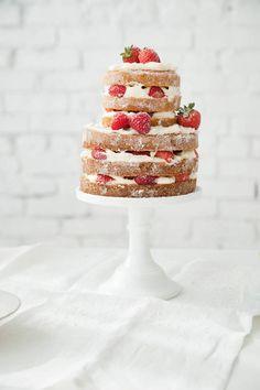 how to make a cake | designlovefest