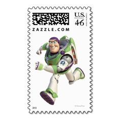 Toy Story 3 - Buzz 2 Stamps
