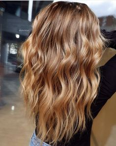 Golden Blonde Balayage for Straight Hair - Honey Blonde Hair Inspiration - The Trending Hairstyle Hair Clay, Long Shag Haircut, Brown Blonde Hair, Blonde Hair Honey Caramel, Light Caramel Hair, Caramel Hair With Blonde Highlights, Auburn Blonde Hair, Strawberry Blonde Highlights, Honey Blonde Hair Color