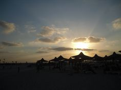 Sunset at El Alamein, Egypt