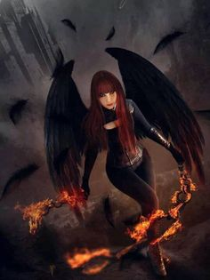 redhaired demon