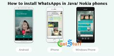 How to install WhatsApp in Nokia related Java Phones – WhatsApp for Nokia Are you having an issue of installing WhatsApp Messenger in your Java related (Nokia) phones? This post is related to the people who are looking to install the WhatsApp in their native phones. I have tested this method in few of Java (Nokia)...