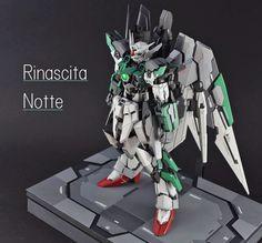 GUNDAM GUY: MG 1/100 Wing Fenice Rinascita Notte [GBWC 2016 Japan] - Customized…