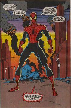 Spider Man-Sal Buscema Spiderman Art, Amazing Spiderman, Incredible Hulk, Comic Book Characters, Comic Books Art, Book Art, Sal Buscema, Spectacular Spider Man, Steve Ditko