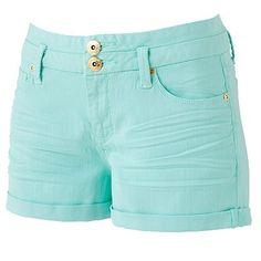 Cute High-Waist Shorts! #candies #blue #high