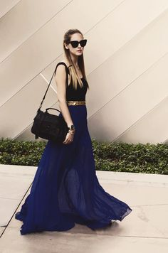 Love the summer maxi skirt thing.