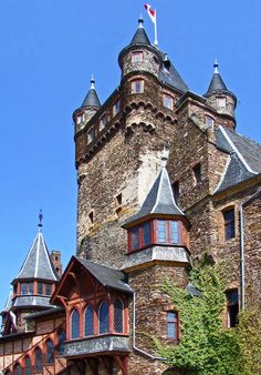 Cochem Castle, Germany - had great fun at this wonderful site.  Long hike up the back side from the river but great view of town.