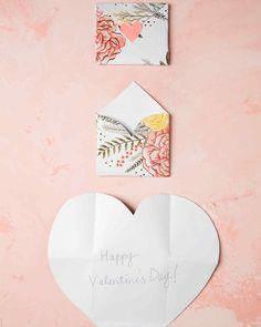 folding heart envelopes multistep