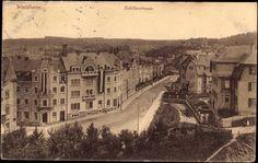 Ansichtskarte / Postkarte Waldheim in Mittelsachsen, Blick in die Schillerstraße   akpool.de