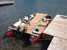Canoe Camping, Canoe Trip, Canoe And Kayak, Kayak Fishing, Fishing Boats, Kayaks, Bay Boats, Boat Projects, Diy Projects