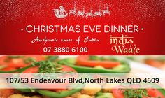 Happy Christmas from #Indiawaale - The authentic taste of #Indian #NorthLakes Indian #Restaurant Ph: 07 3880 6100 - Email : contact@indiawaale.com.au