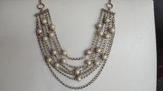 nuevas gargantillas con perlas y cadenas