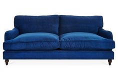 25 Reasons To Say Yasss to a Blue Sofa