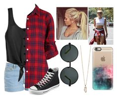 """""""xox / the old Miley Cyrus"""" by haileymadisonnn ❤ liked on Polyvore featuring Paul & Joe, Casetify, Karen Walker, Cyrus, Converse, Zoya, miley, mileycyrus and cyrus"""