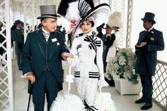 Wilfrid Hyde White and Audrey Hepburn, plus hat.
