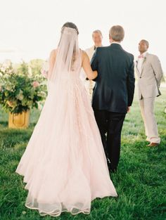 Gorgeous Jingles dress: http://www.stylemepretty.com/2015/05/19/the-prettiest-blush-pink-wedding-dresses/