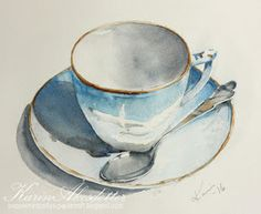 I most often use Arches watercolor paper rough and fine 140 lb (a few of these paintings though are made on Fabriano Artistico fine and rou...