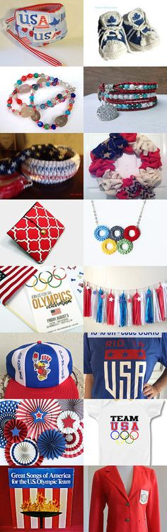 Cheering on Team USA by Patricia Reed on Etsy--Pinned+with+TreasuryPin.com