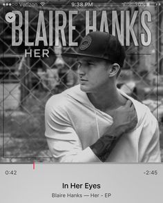 Such a sweet song @blairehanks #inhereyes #stuckonrepeat by harmony_arden