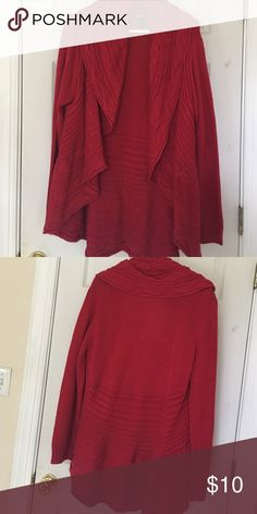 Wrap Yourself in Warmth...Cozy Sweater Super comfortable, wrap yourself in this like-new chunky sweater. Smoke-free home. Style & Co Sweaters Cardigans