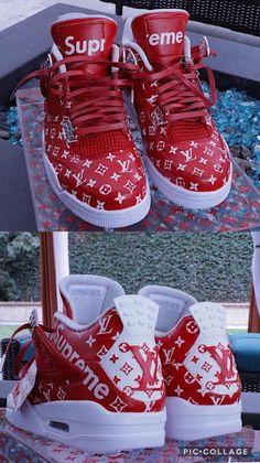 various colors f8854 914a6 Maßgefertigte Schuhe, Hypebeast, Luft Jordans, Urbane Mode, Urbaner Stil,  Supreme,