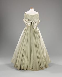 Fabiani ball gown ca. 1958