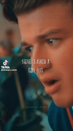Saints Memes, Steve Harrington, Girls Out, Stranger Things, Creepy, Nerd, Movies, Pictures, Strange Things