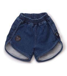 NUNUNU Denim Gym Shorts