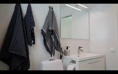 Kylpyhuoneremontit » Rakennus Trombit Oy - Saunaremontti Helsinki, Bathroom Hooks, Closet, Home Decor, Armoire, Interior Design, Home Interior Design, Closets, Wardrobes