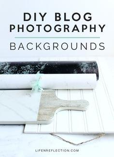 DIY Blog Photography Backgrounds
